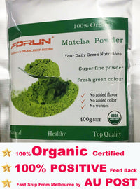Organic A Grade Matcha Powder (#8902)-Pure,Fresh Green