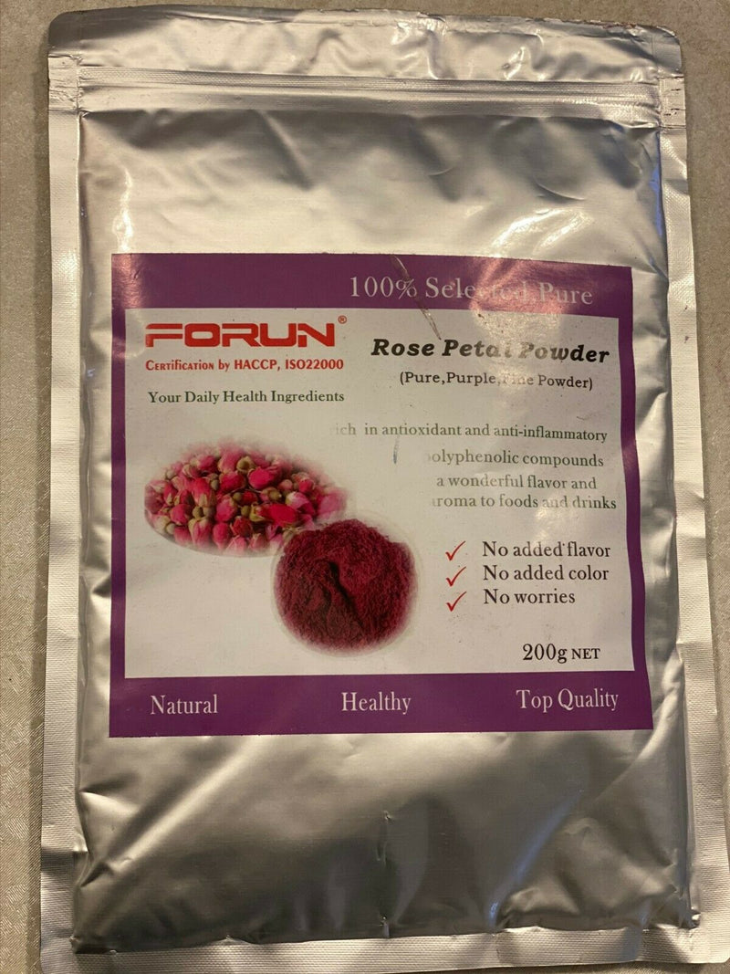 Pure Rose Petal Powder (50G/200G/400G/600G/1KG)-Food Grade
