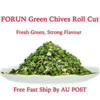 Green Chive Rolls Cut (Small Shallot Ring Cut)