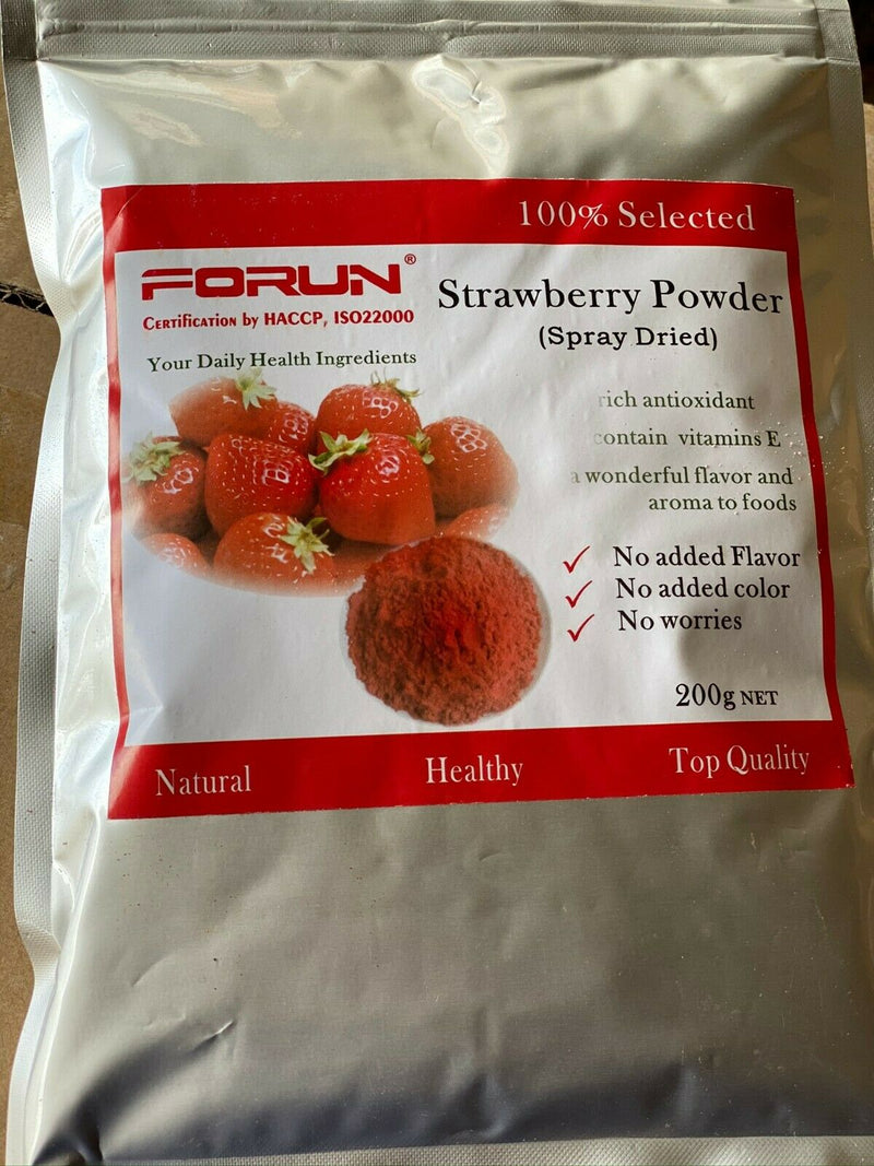 Fruit Powder 6 Items Combo -100% Natural -Total 1.2KG (200G/bag)