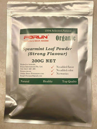 Spearmint Powder (Mint Leaf Powder) - Pure, Fresh Green