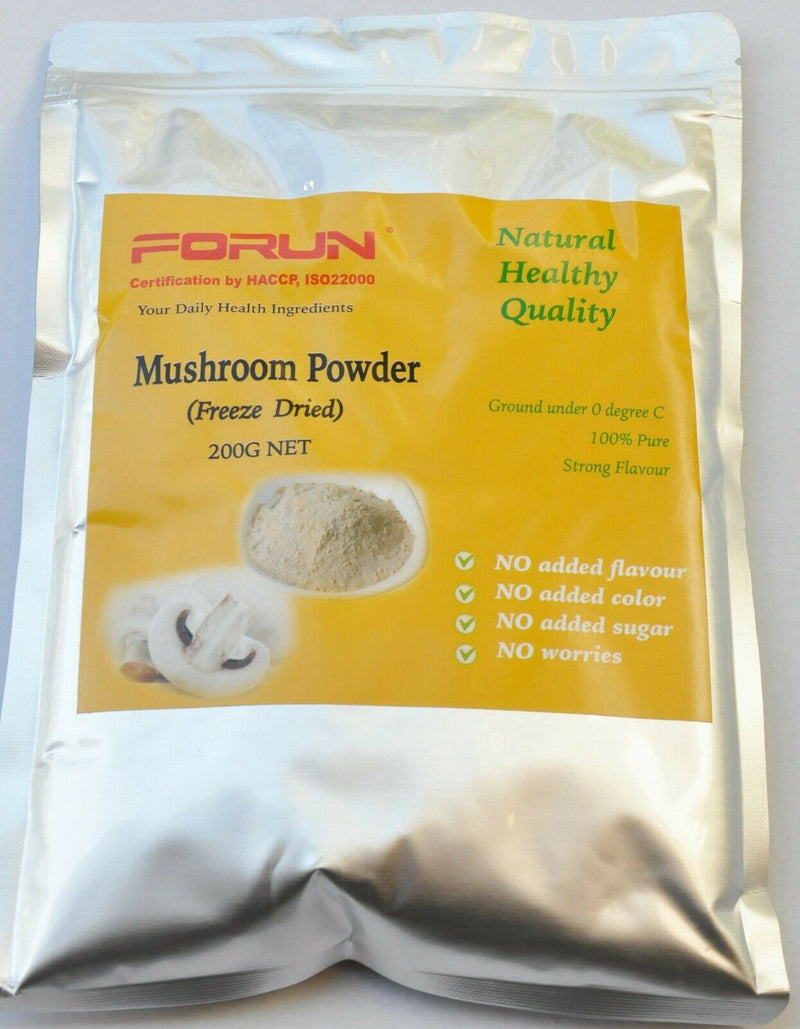 Freeze Dried Mushroom Powder