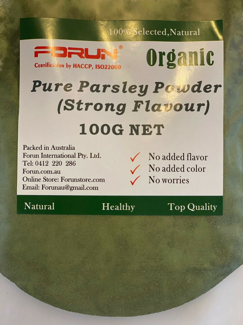 Parsley Powder - Pure, Strong Flavour