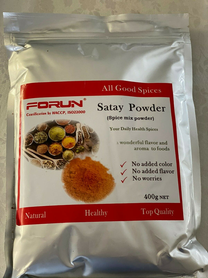 Satay Spice Mix -NO Sugar,No Salt