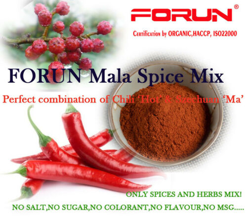 Mala Spice Mix -100% Natural,typical Sichuan style
