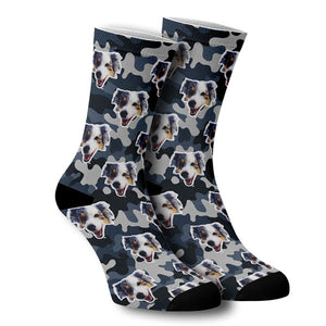 Custom socks with your dog on them!