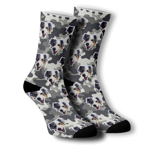 Custom socks with your pet on them!