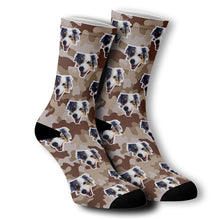 Load image into Gallery viewer, Custom socks with your fur baby on them!
