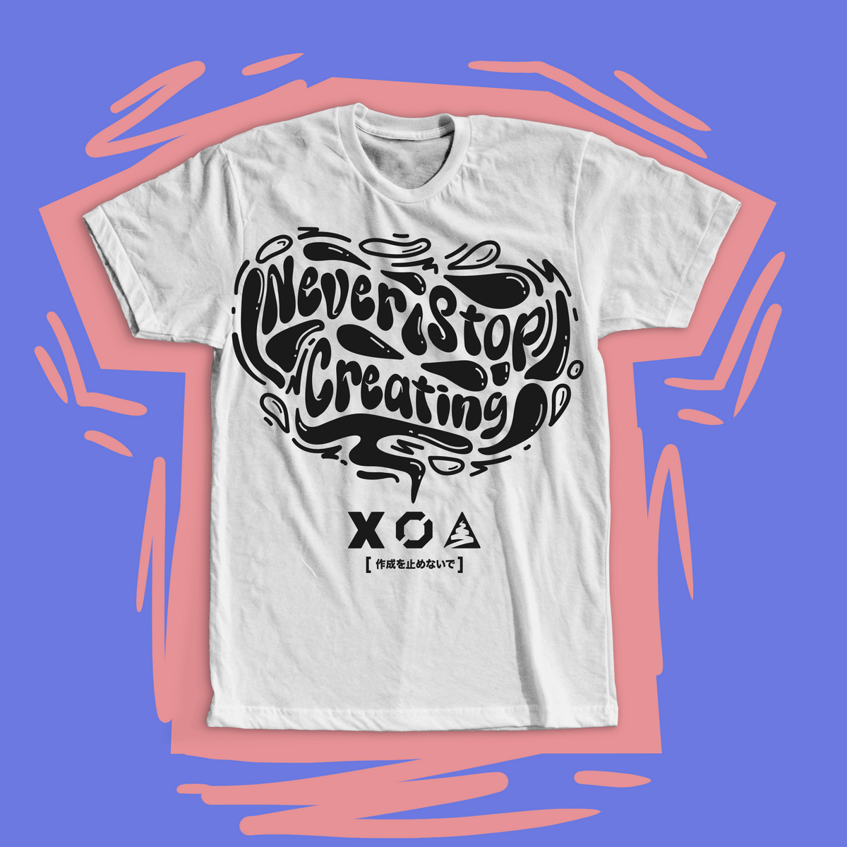 NEVER STOP CREATING DAYDREAM T-SHIRT