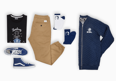 Get the look: ESL / Reel / Vans / Team Liquid