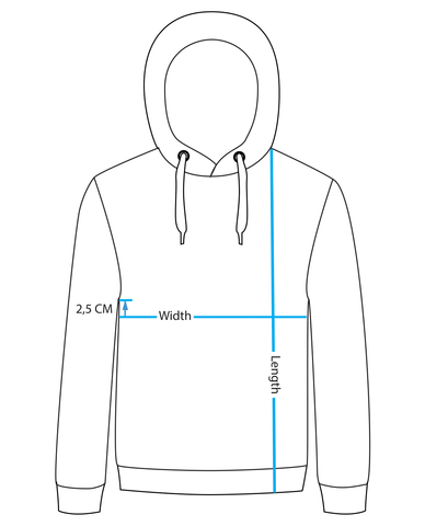 how to draw a hoodie down