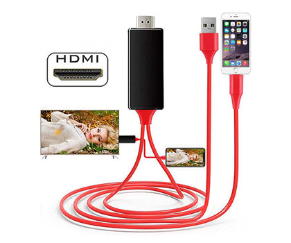 Visual HDMI Cable (iPhone, Android)