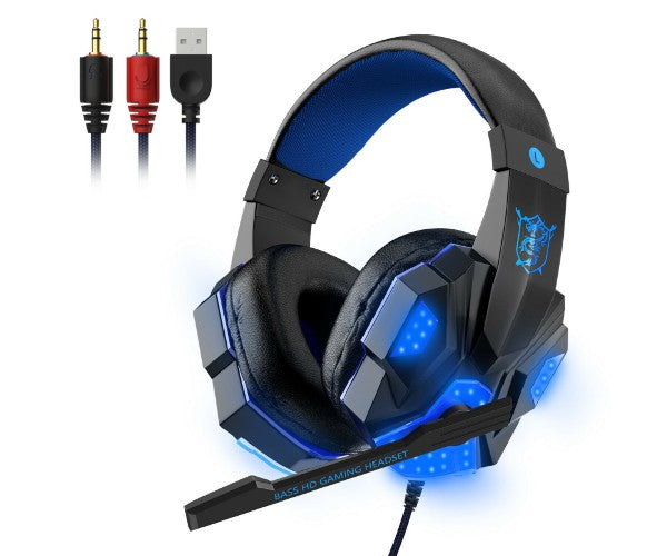 LED Gamer Headset