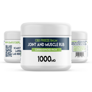 Simply CBD FL 1000 MG CBD Joint and Muscle Balm