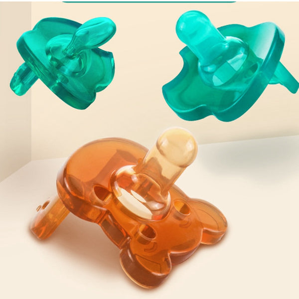 Dera Transparent Silicone Pacifier