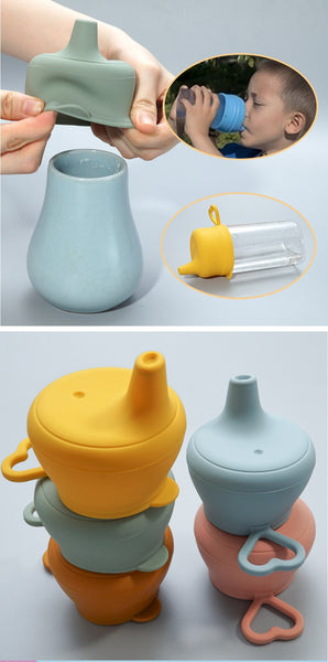 Silicon Baby Feeding Cup