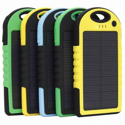 SOLAR POWER BANK -  WATER PROOF, SHOCK PROOF & DUST PROOF