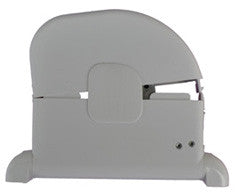 Roller Shutter Tape Strap Box - White - Pull Through