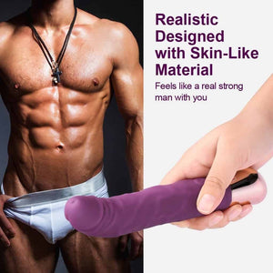 Realistic Dildo Vibrator - Just Sex Dolls