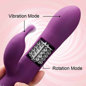 Primium Rabbit Vibrator with Rotating Shaft - Just Sex Dolls