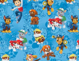 Blue Paw Patrol Toy Box