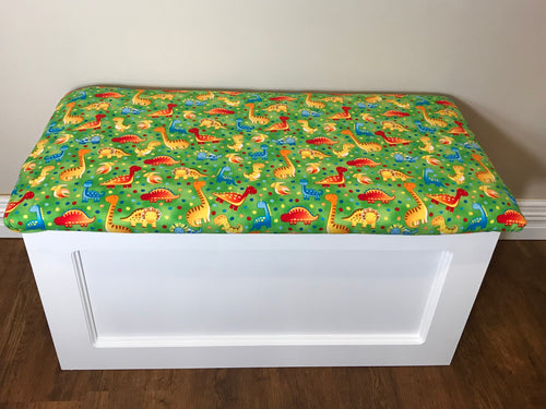 Green Dinosaur Toy Box
