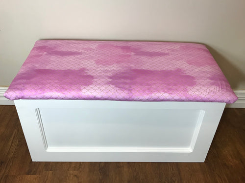 Purple Mermaid Toy Box