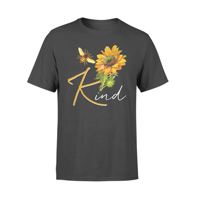Bee Kind Sunflower Hippie - Standard T-shirt - Dreameris