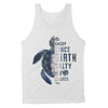 Dreameris - Sea Turtle Sassy Since Birth Salty By Choice For Sea Lover - Standard Tank - Dreameris