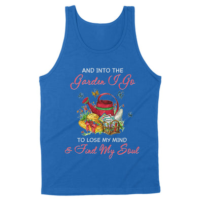Gardening is a work of heart and into the garden i go to lose my mind _ find my soul cute - Standard Tank - Dreameris
