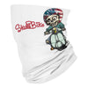 Skull Bike Vespa Cartoon Skeleton American - Neck Gaiter - Dreameris