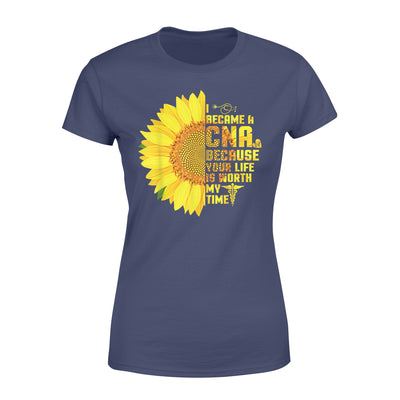 Certified Nursing Assistant CNA Nurse - Premium Women's T-shirt - Dreameris