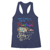 When It Rains Look For Rainbows When It's Dark Look For Stars Camping Hiking Adventure Hippie - Premium Women's Tank - Dreameris