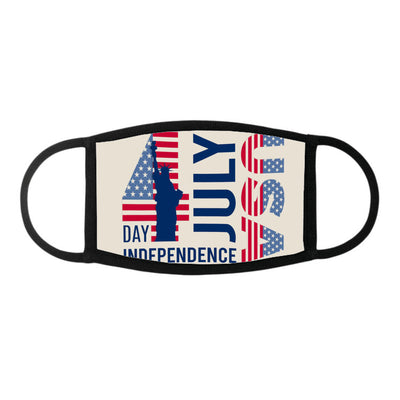 Poster for usa independence day design - Face Mask - Dreameris