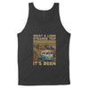 What A Long Strange Trip Its Been Grateful Dead Hippie Car For Fan - Standard Tank - Dreameris