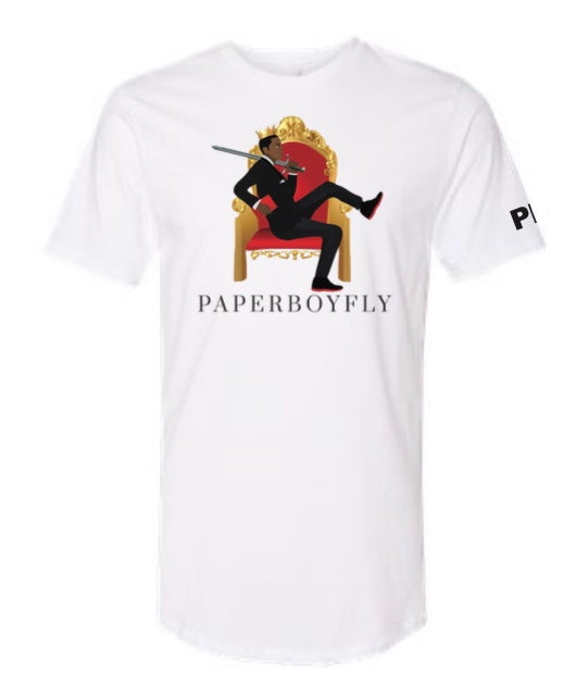 PaperboyFly Royalty Limited Edition Short Sleeve T-Shirt