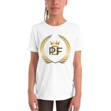 Load image into Gallery viewer, PaperboyFly Crown Short Sleeve Youth T-Shirt