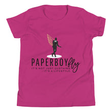 Load image into Gallery viewer, PaperboyFly  Life-Style Short Sleeve Youth T-Shirt