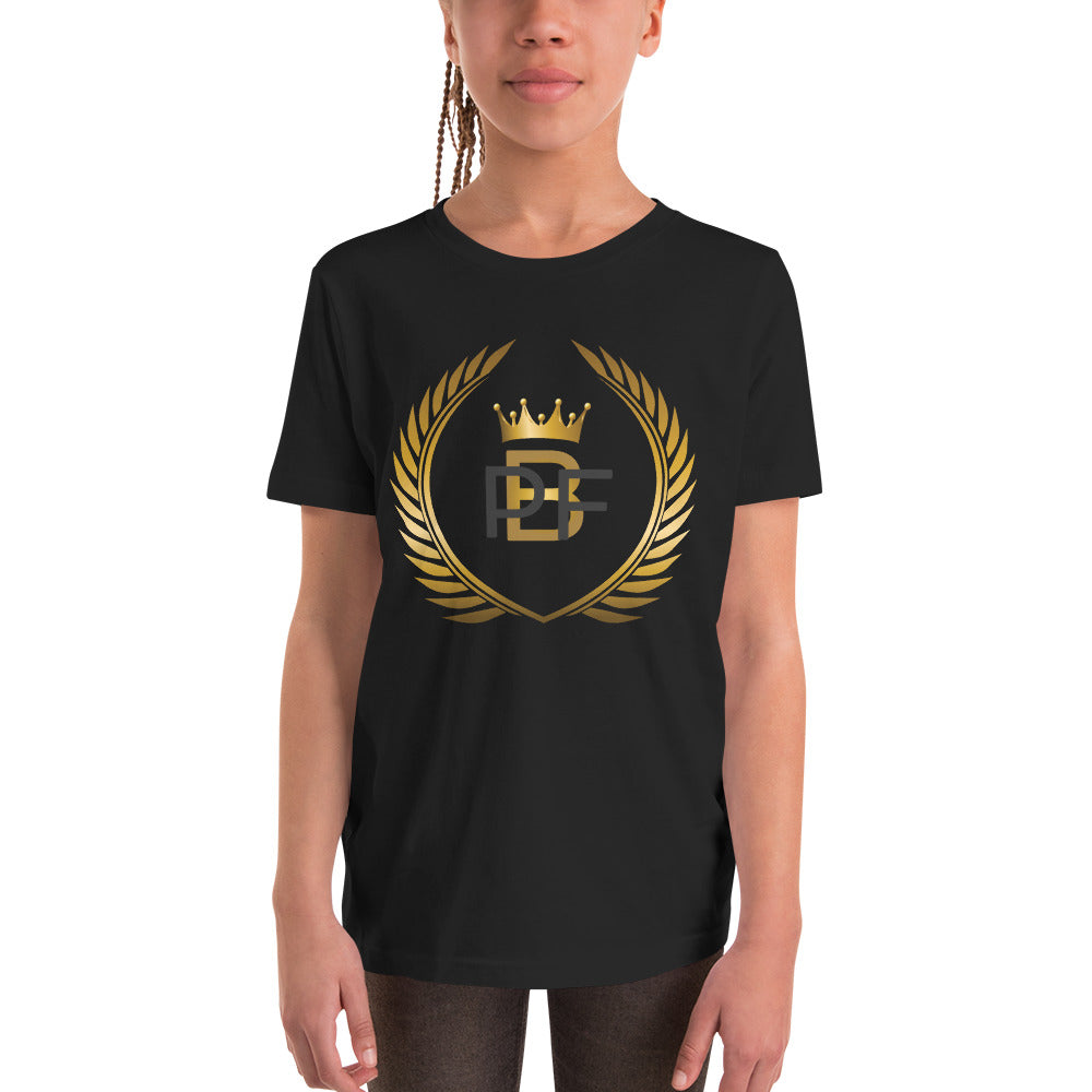 PaperboyFly Crown Short Sleeve Youth T-Shirt