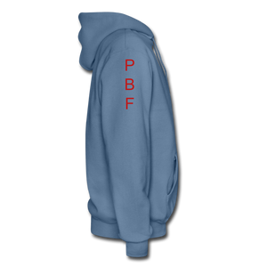PBF Men's Hoodie - denim blue