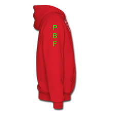 Load image into Gallery viewer, PBF Men's Hoodie - red