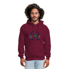 Load image into Gallery viewer, PBF Men's Hoodie - burgundy