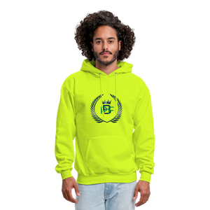 PBF Men's Hoodie - safety green