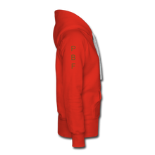 Load image into Gallery viewer, PBF Women's Premium Hoodie - red