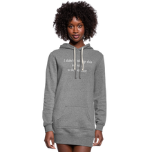 Load image into Gallery viewer, PaperboyFly Women's Hoodie Dress - heather gray