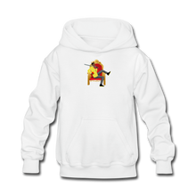 Load image into Gallery viewer, Paperboy Fly Kids' Hoodie - white