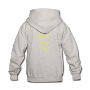 Paperboy Fly Kids' Hoodie - heather gray