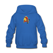 Load image into Gallery viewer, Paperboy Fly Kids' Hoodie - royal blue