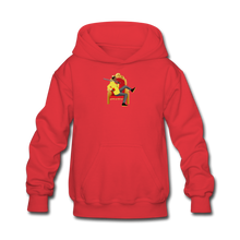 Load image into Gallery viewer, Paperboy Fly Kids' Hoodie - red