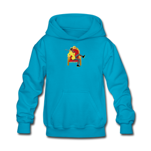 Paperboy Fly Kids' Hoodie - turquoise